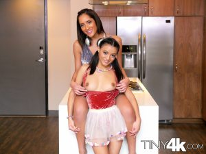 Tiny4k Pocket & Chloe Amour in Birthday Threesome 2