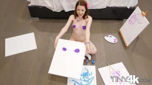 Tiny4k Alice Merchesi in Alice's Messy Paint Party 8